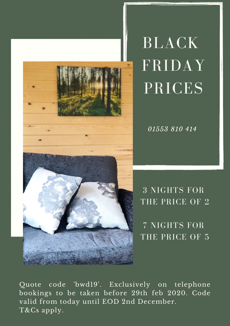 Woodlakes Black Friday 3 for 2 Deal